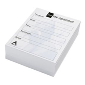 Agenda Beauty Appointment Cards x 100