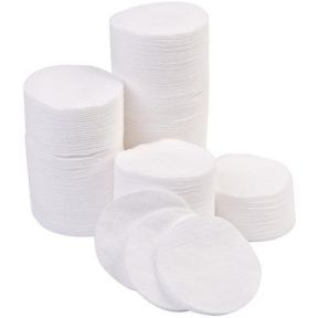 Lint Free Cotton Cosmetic Pads x 500