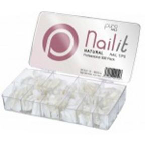 Purenails Natural Tips - Pack of 500
