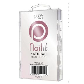 Purenails Natural Tips - Pack of 100