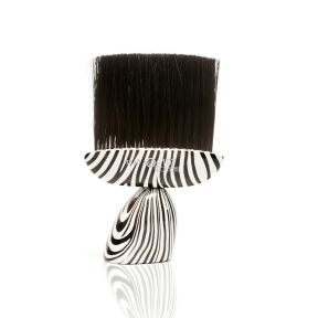 Headjog No.197 Nouveau Neck Brush - ZEBRA