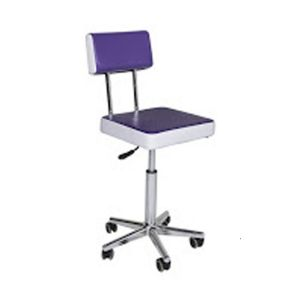 Crewe Receptionist Seat - Purple & White
