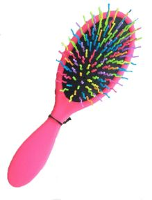 STR Detangle and Shine Brush - Pink