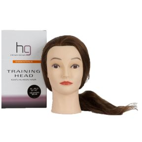 22-24 Training Head 100% Human Hair