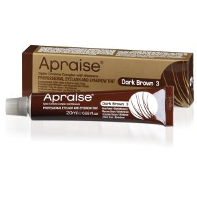 Apraise Eyebrow Eyelash Tint Dark Brown 20ml