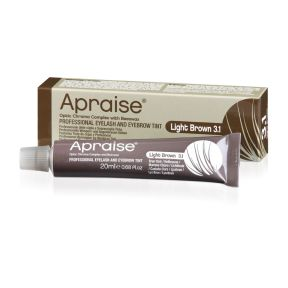 Apraise Eyebrow Eyelash Tint Light Brown 20ml