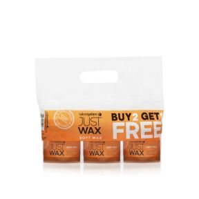 Just Wax Soft Wax Buy 2 get 1 Free (Pre Packed)