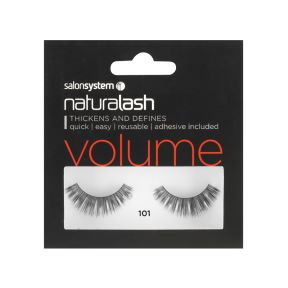 Salon System Naturalash 101 Black Strip Lash